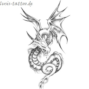 Tattoomotiv Drache