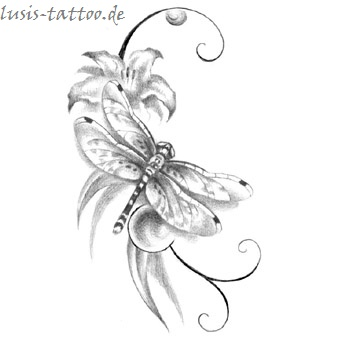 Tattoomotiv Libelle